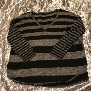 Loose Fit Express Striped Sweater Size S